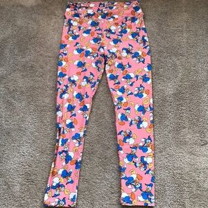Lularoe Donald Duck Pants